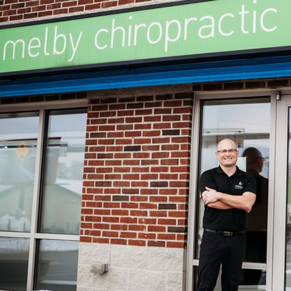 Melby Chiropractic mobile banner