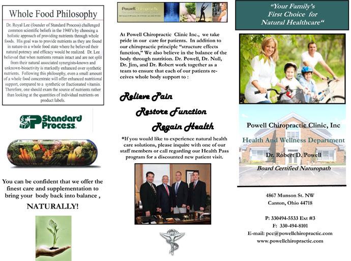 wellness brochure front