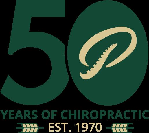 50 years of Chiropractic logo