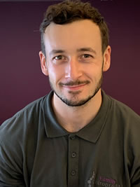 James Luxton, Sports Therapist