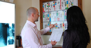 Chiropractic report of findings