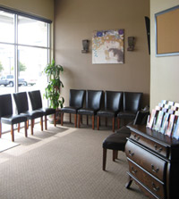 The reception area of {PRACTICE NAME} in {PJ}