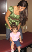 We provide chiropractic care for spines of all ages!
