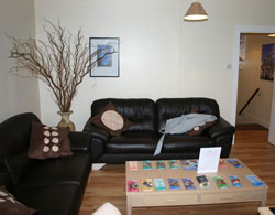 Waiting area at Premier Chiropractic Centre