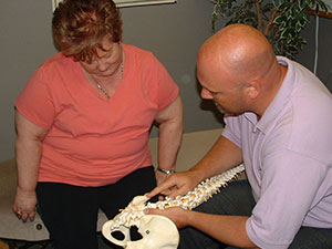 Leamington Chiropractor report to patient