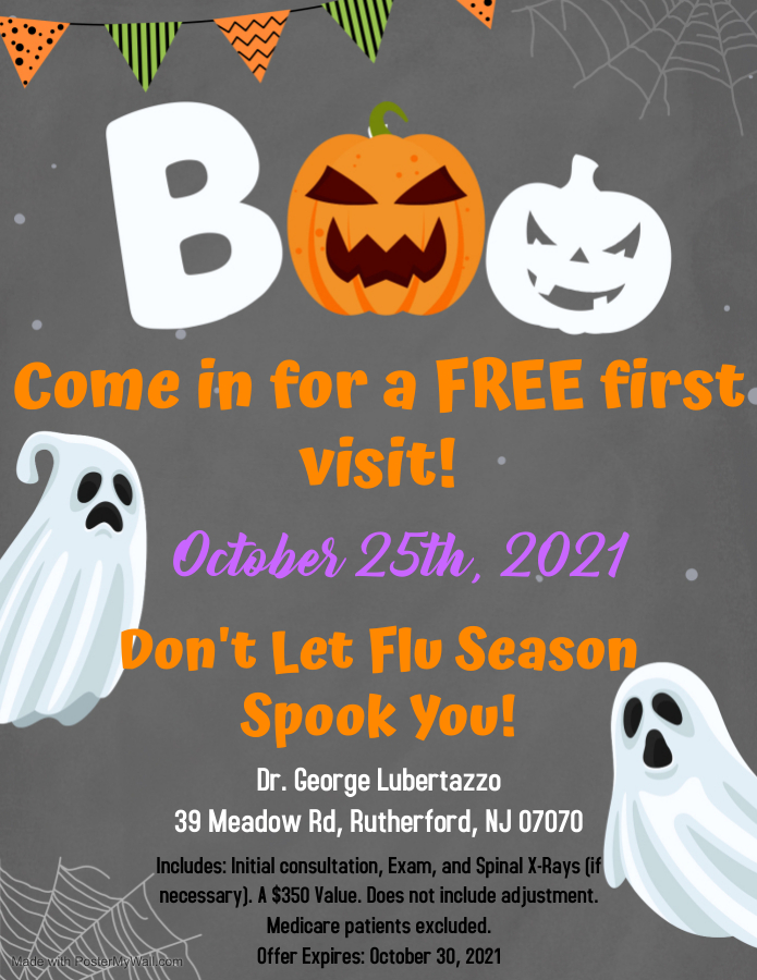 Dont Let Flu Season SpookYou - Made with PosterMyWall