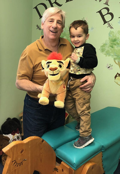 Doctor with pediatric patient