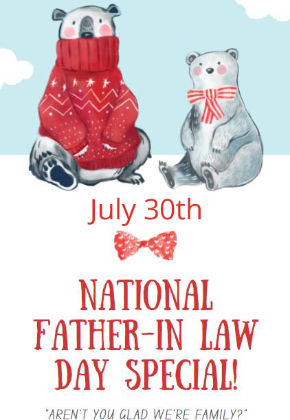 National Father-in-Law Day