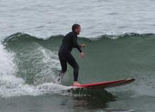 Dr. Jay Weber, D.C. surfing