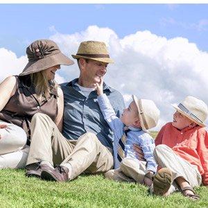 Dr. Glenn Family Photo