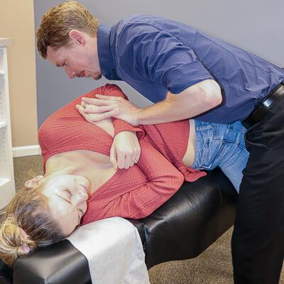 dr north back adjustment