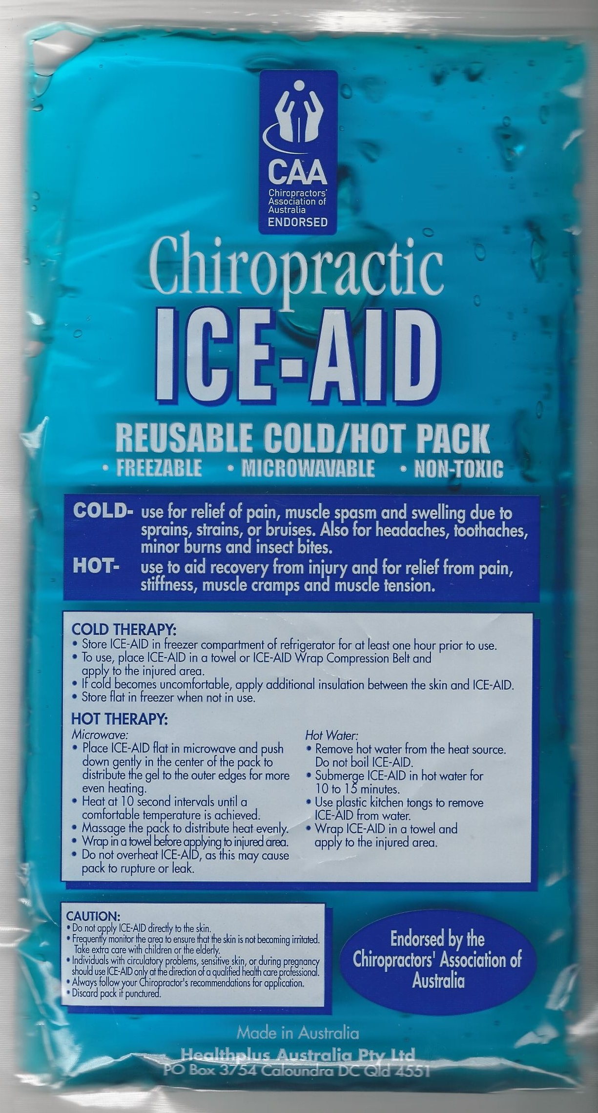 Chiropractic Ice Aid