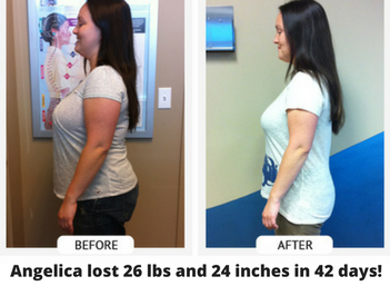 angelica weight loss