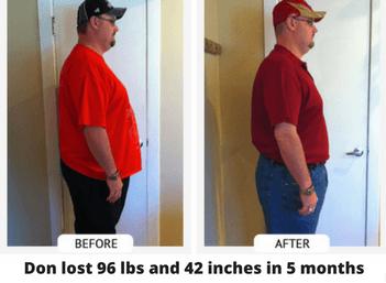 don weight loss