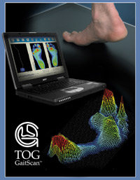 Gait Scan with The Orthotic Group