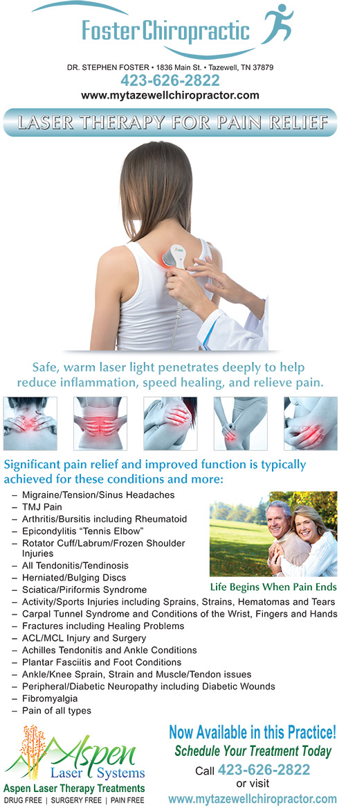 Foster Chiropractic Laser Therapy
