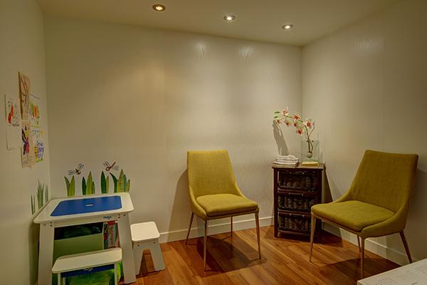 Front Room with Child's Corner