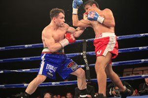 Lo Greco and Cabos boxing