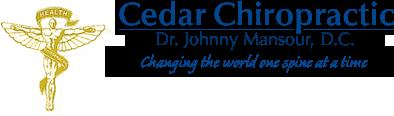 Cedar Chiropractic logo - Home