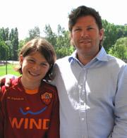 Winnipeg Chiropractor Dr. Brett Carter with his son Stefano