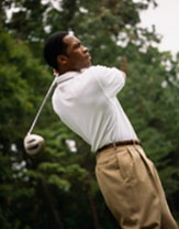 Sports Injuries - image of golfer