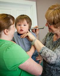 Children often benefit quickly from chiropractic adjustments.
