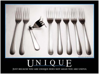 Unique poster