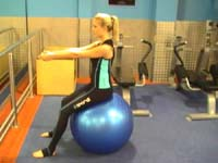 Exercise ball Sophie