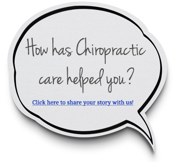 How has Chiropractic helped you?