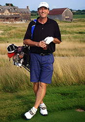 Picture of Dr. Hauser Golfing