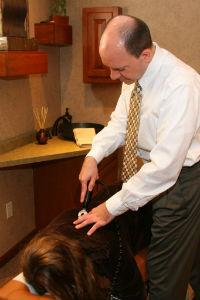 Attica Chiropractor Adjusting Technique