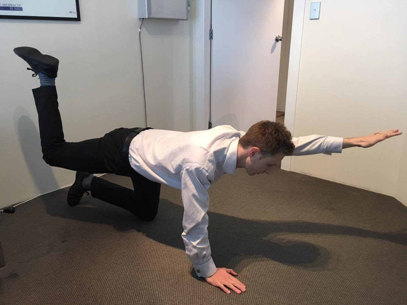 Core and Lower Back strengthening Exercise