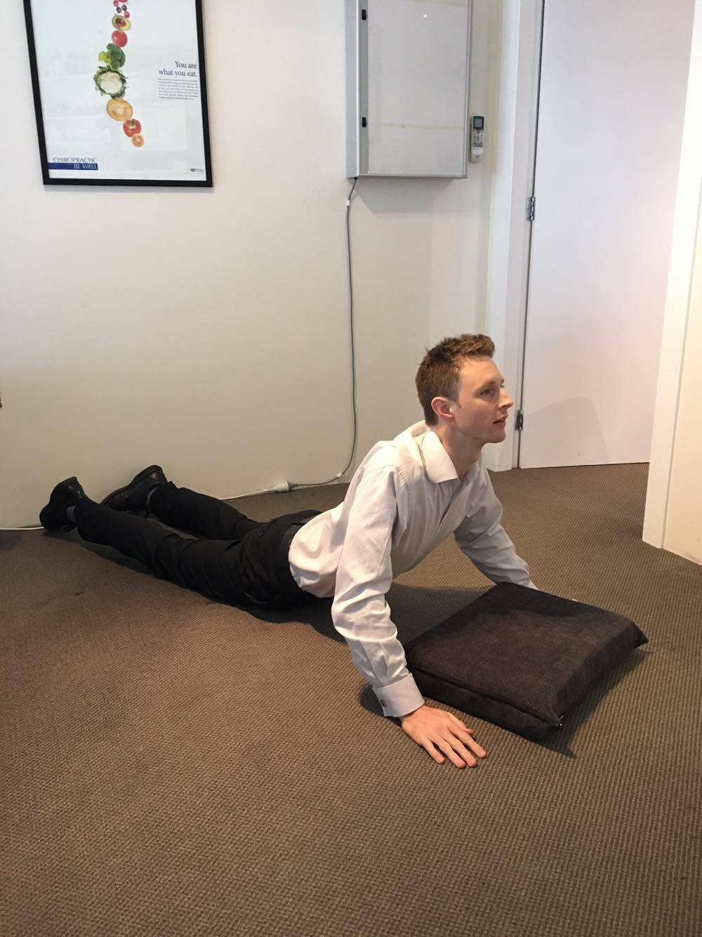 Lumbar Extension Stretch and Strengthening