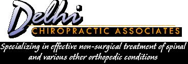 Delhi Chiropractic Associates logo - Home