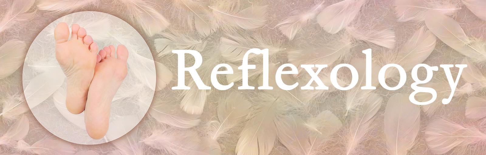 Reflexology Foot Massage Website Banner Head - Circle On Left Co