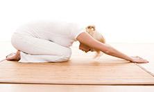 kinetic yoga woman posing