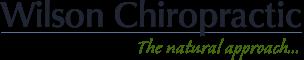 Wilson Chiropractic logo - Home