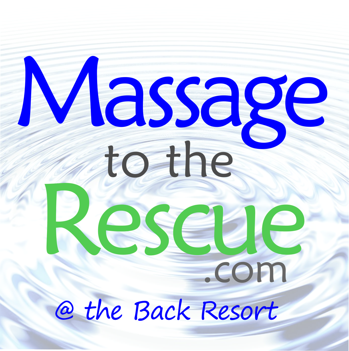 Massage to the Rescue logo