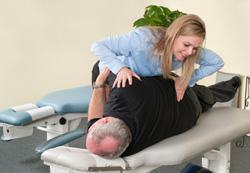 chiropractic adjustment at Croydon Sports Injury Clinic Ltd in Croydon