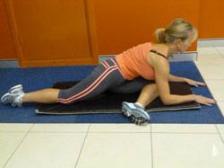 Piriformis stretch - Hurdler Stretch