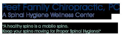 Peet Family Chiropractic logo - Home