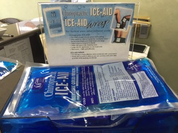 Ice Gel Packs available at be Healthy Chiropractic Wellness Centre