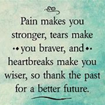 pain makes you stronger