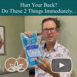 Hurt Your Back? Do These Two Things Immediately