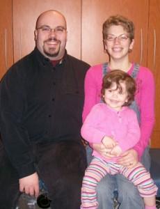Adam, Sherilyn & Emelia Delves