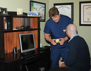 Your Chiropractor will perform a thorough chiropractic exam.