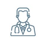 Medical doctor on premises