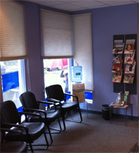 Waiting Area at  RightSPINE Chiropractic Neurology