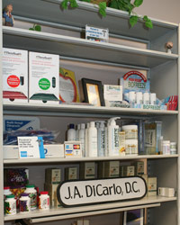 We have a large selection of products to compliment the care you receive in our office