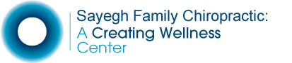 Sayegh Family Chiropractic: A Creating Wellness  Center logo - Home